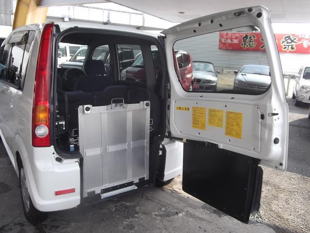 ダイハツ ムーヴ 助手席電動回転スライドシート スローバー福祉車両