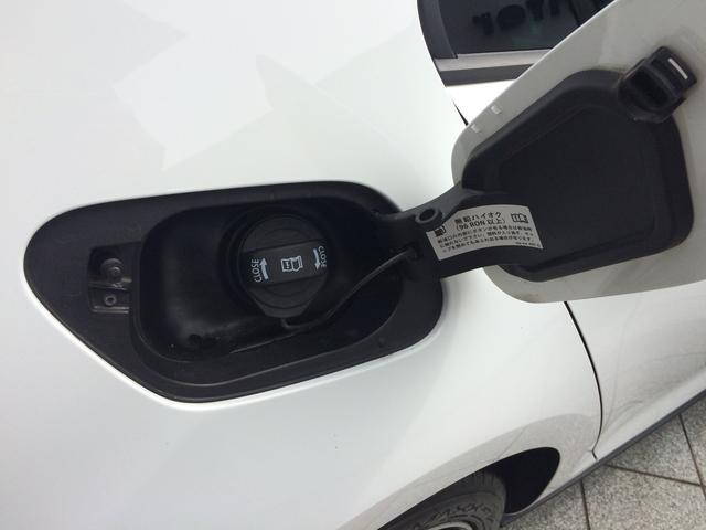 ガソリンはハイオクです。