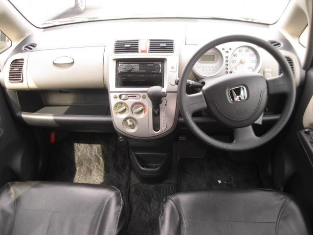 C 社外エアロ・社外15inアルミホイール・レザー調シートカバー・フェンダーモール・リモコンミラー・キーレス・ABS・Wエアバック・carrozzeria DEH-350 CDステレオ(3枚目)