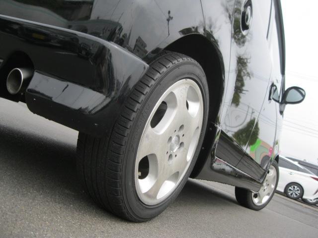 C 社外エアロ・社外15inアルミホイール・レザー調シートカバー・フェンダーモール・リモコンミラー・キーレス・ABS・Wエアバック・carrozzeria DEH-350 CDステレオ(28枚目)
