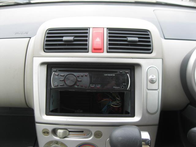 C 社外エアロ・社外15inアルミホイール・レザー調シートカバー・フェンダーモール・リモコンミラー・キーレス・ABS・Wエアバック・carrozzeria DEH-350 CDステレオ(50枚目)