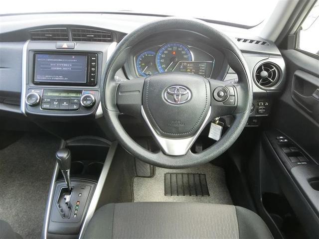 トヨタ カローラフィールダー ハイブリッド メモリーナビ ETC