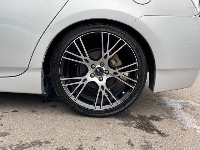 S テイン車高調 モデリスタ18インチAW 革調シートカバー イクリプスSDナビTV  バックカメラ ETC キセノンライト(29枚目)