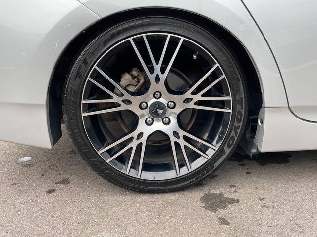 S テイン車高調 モデリスタ18インチAW 革調シートカバー イクリプスSDナビTV  バックカメラ ETC キセノンライト(30枚目)