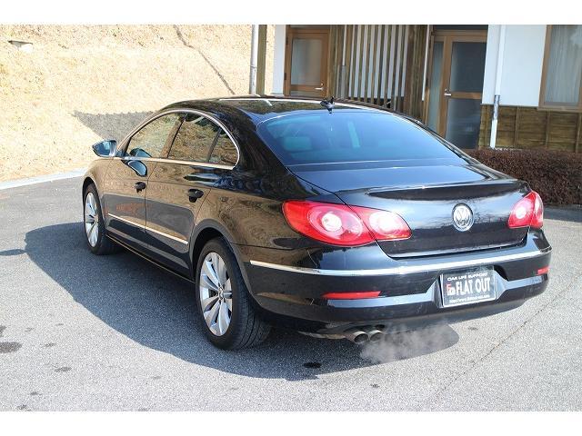 フォルクスワーゲン VW パサートCC 2.0TSI 黒革シート HDDナビTV キーレス ETC