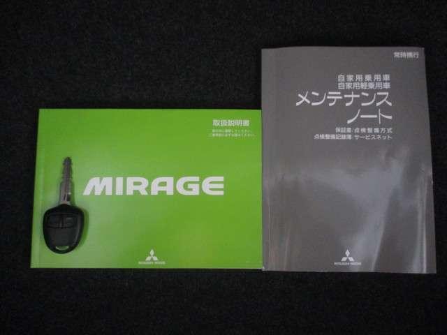 三菱 ミラージュ M 距離無制限保証1年付 CDデッキ スマートキー付