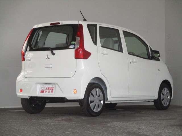 三菱 eKワゴン E 距離無制限保証1年付 オーディオレス車