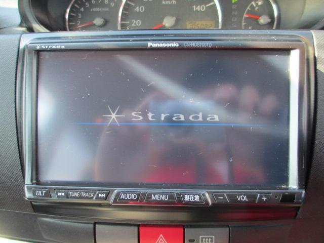 ストラーダHDDナビ&フルセグTV&CD&MS&DVDビデオ!!