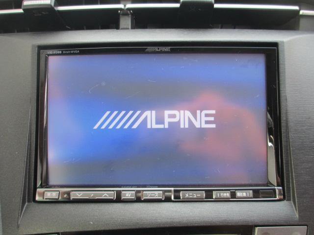 【アルパイン8型HDDナビ】CD・DVDビデオの再生はもちろん、内臓HDDに音楽録音をしてくれる機能も付いています☆