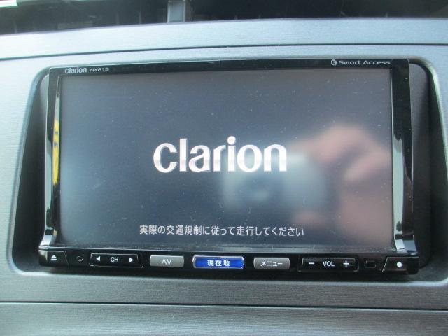 クラリオンSDナビ&フルセグTV&CD&MS&DVDビデオ&BT-A!!