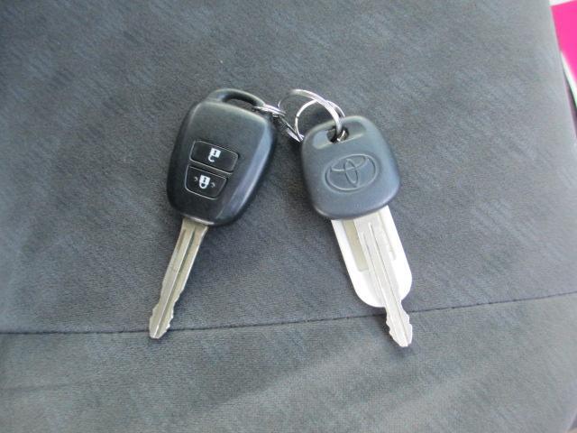 キーレス&万が一のときも助かるスペアキー付!中古車検討の際には必ずご確認下さい!