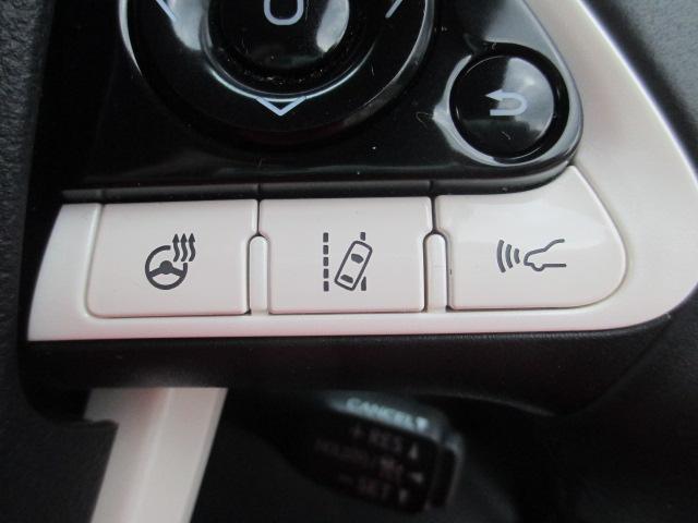 【車線維持支援機能レーントレーシングアシスト】車線から逸脱する可能性があることを警告したり、車線からの逸脱を避けるためのステアリング操作支援を行ってくれます☆ステアリングヒーター付き!!