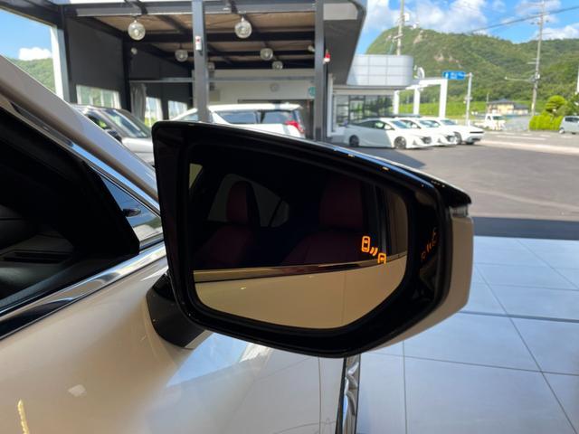 IS300h バージョンL 赤革エアーシート 3眼LEDHL レクサスセーフティ 純正SDワイドナビ 360度カメラ 純正19AW フロント・リアドラレコ ステアリングヒーター ブレーキホールド ETC2.0 メモリー付パワーシート Rサンシェイド Goo鑑定車(7枚目)