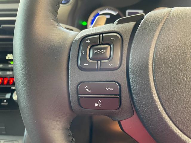 IS300h バージョンL 赤革エアーシート 3眼LEDHL レクサスセーフティ 純正SDワイドナビ 360度カメラ 純正19AW フロント・リアドラレコ ステアリングヒーター ブレーキホールド ETC2.0 メモリー付パワーシート Rサンシェイド Goo鑑定車(32枚目)