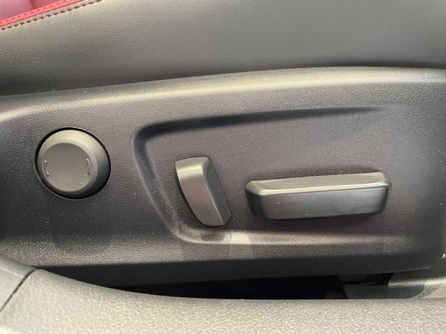 IS300h バージョンL 赤革エアーシート 3眼LEDHL レクサスセーフティ 純正SDワイドナビ 360度カメラ 純正19AW フロント・リアドラレコ ステアリングヒーター ブレーキホールド ETC2.0 メモリー付パワーシート Rサンシェイド Goo鑑定車(43枚目)