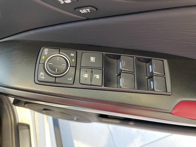 IS300h バージョンL 赤革エアーシート 3眼LEDHL レクサスセーフティ 純正SDワイドナビ 360度カメラ 純正19AW フロント・リアドラレコ ステアリングヒーター ブレーキホールド ETC2.0 メモリー付パワーシート Rサンシェイド Goo鑑定車(45枚目)