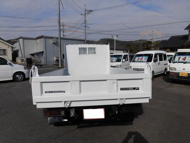 いすゞ エルフトラック ダンプ 2t 全低床 補修済み