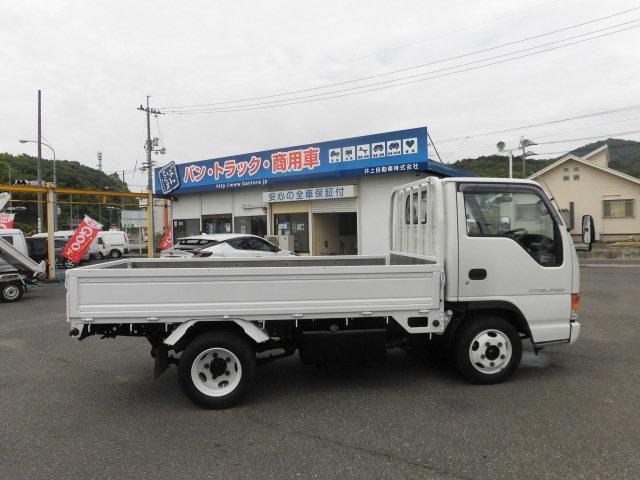 いすゞ エルフトラック 2t積 フルフラットロー