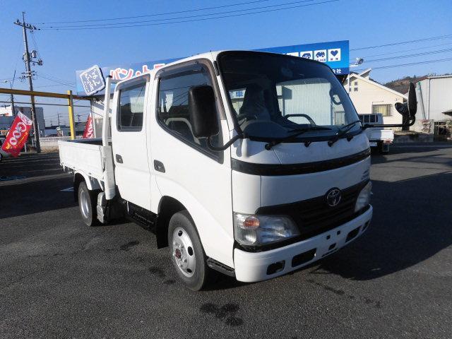 トヨタ ダイナトラック Wキャブセミロング 4WD ディーゼル