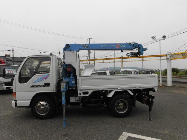 カスタム平ボデイショウトクレーンラジコン2850kg積み(4枚目)