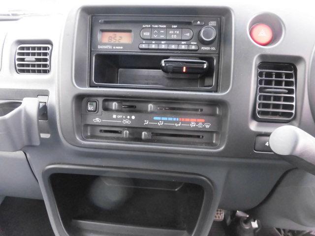 エアコン・パワステ 5速 4WD ETC CD  メッキ フォグランプ 荷台作業灯(12枚目)