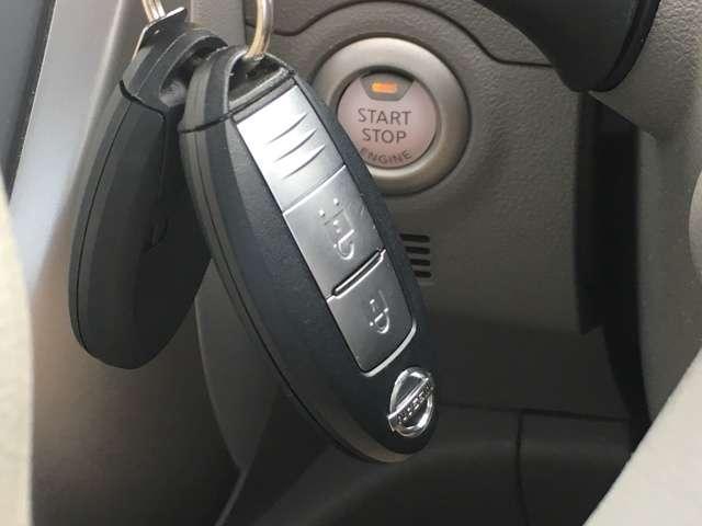 ◆エンジンプッシュスタート◆キーを持っているだけでワンタッチでエンジンのON/OFFができます!
