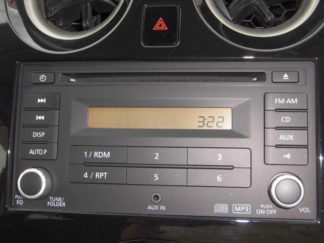 オーディオはCD・AM・FMが付いています♪