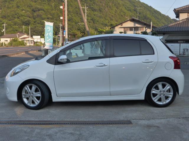 「トヨタ」「ヴィッツ」「コンパクトカー」「岡山県」の中古車8