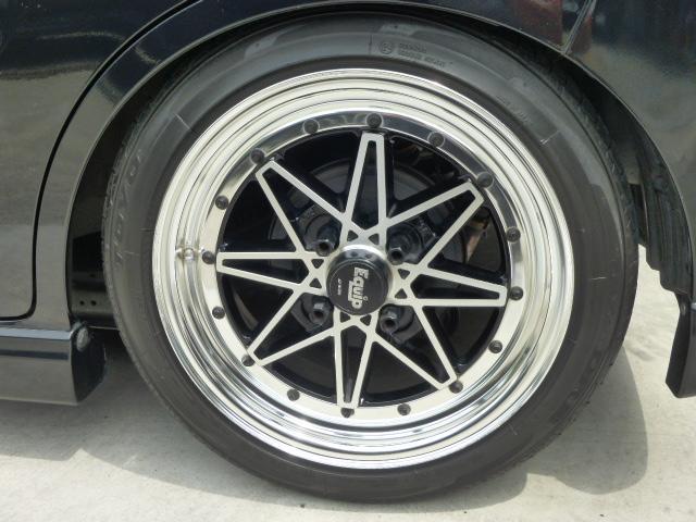 リミテッドII 車高調 ワーク15インチアルミ ナビTV(8枚目)