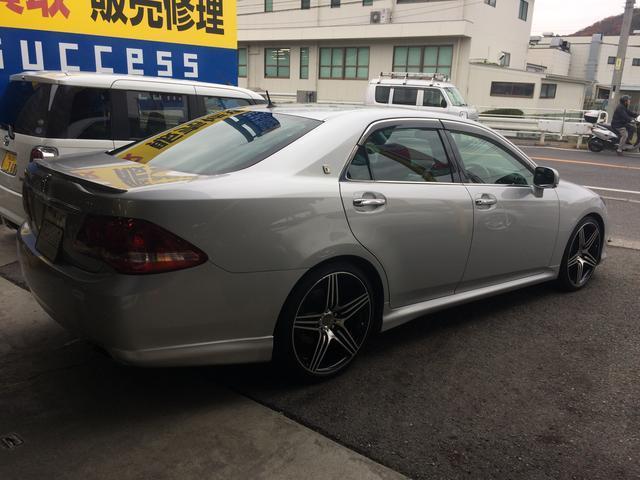 トヨタ クラウン 3.5アスリートGパッケージ HDDナビローダウン グー鑑定