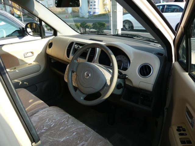 日産 モコ E    スマートキー 衝突安全ボディで安心