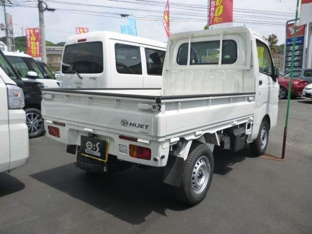ダイハツ ハイゼットトラック STD  農用スペシャル 3方開 4WD 届出済み未使用車