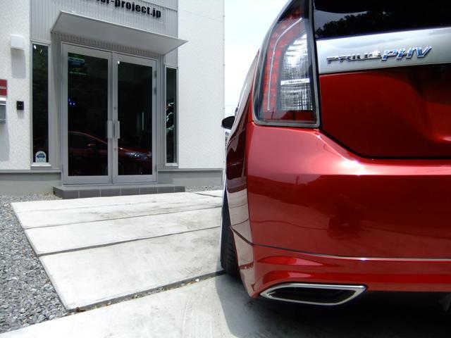 トヨタ プリウスPHV S TSR-PROJECTデモカー