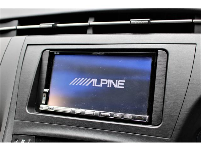 トヨタ プリウス S アルパインHDDナビ AIMGAIN コンプリートカー