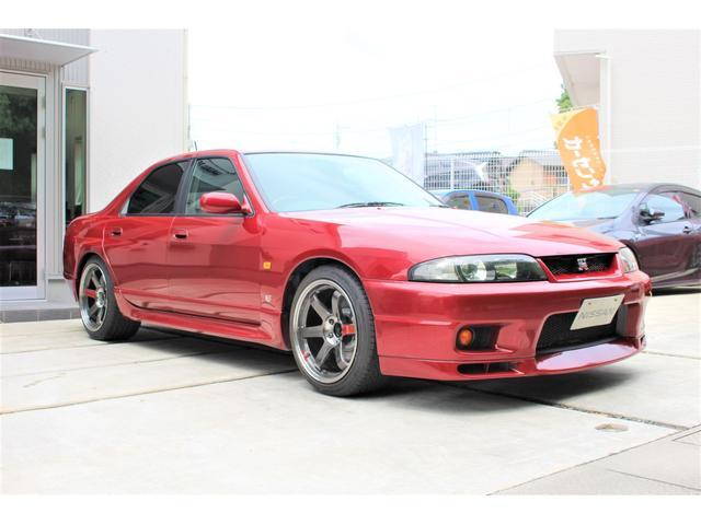 GT-Rオーテックバージョン40thアニバー GT-Rオーテックバージョン40thアニバーサリー 4WD NISMOサスペンションキット 藤壺マフラー RAYS TE37SL18in リフレッシュ済(4枚目)