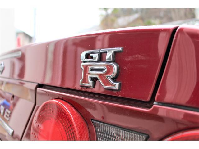 GT-Rオーテックバージョン40thアニバー GT-Rオーテックバージョン40thアニバーサリー 4WD NISMOサスペンションキット 藤壺マフラー RAYS TE37SL18in リフレッシュ済(19枚目)