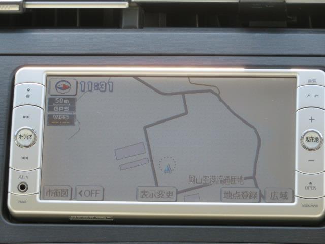 ナビゲーション付きなので、初めての道もラクラク!目的地設定も簡単!NSDN-W59