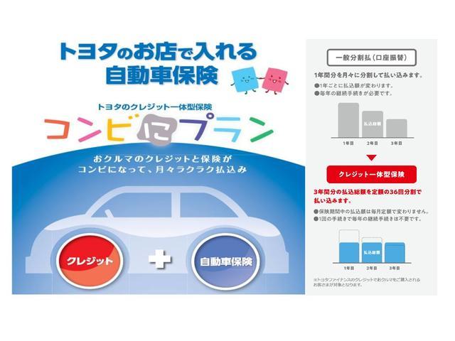 車の支払と自動車保険がコンビになった、月々ラクラク支払のプラン。詳細はスタッフにお尋ねください。
