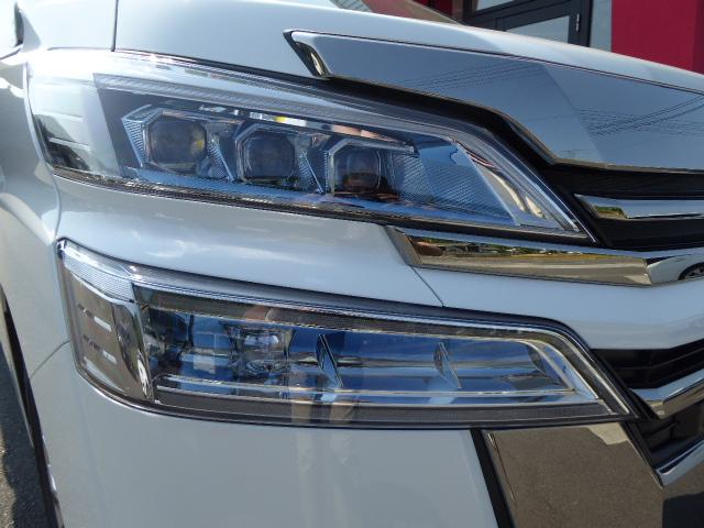 トヨタ ヴェルファイア 3.5V L ツインムーンルーフ 三眼ヘッドライト スペアT
