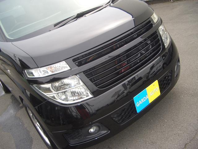 日産 エルグランド X 純正ナビTV Bカメラ インテリキー 社外マフラー車高調