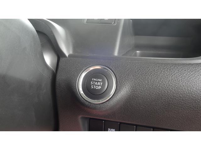 キーレス&プッシュエンジンスタート☆キーを携帯さえしていればブレーキを踏みながら写真のボタンを押すだけで楽々エンジン始動♪