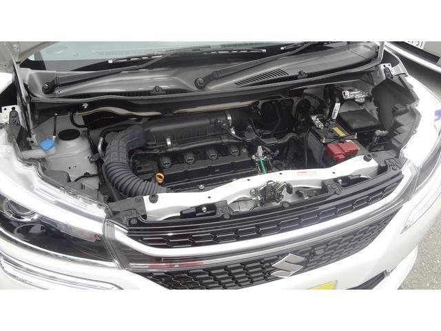 マイルドハイブリッド搭載☆JC08モードにて27.8Km/Lの低燃費!低速トルクも強くストレスの少ない加速感があります♪現在エンジン・ミッション等の各種機関も好調です!