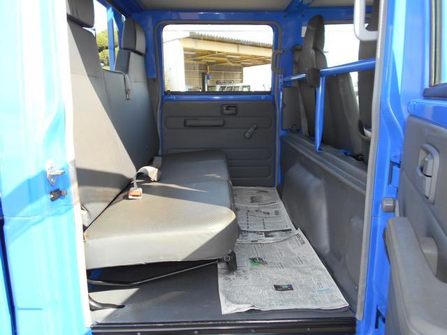 いすゞ エルフトラック Wキャブフラットロー 1.5t積