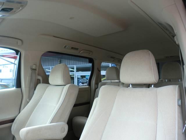 トヨタ ヴェルファイア 2.4V HDDナビ 両側電動スライドドア コーナーセンサー