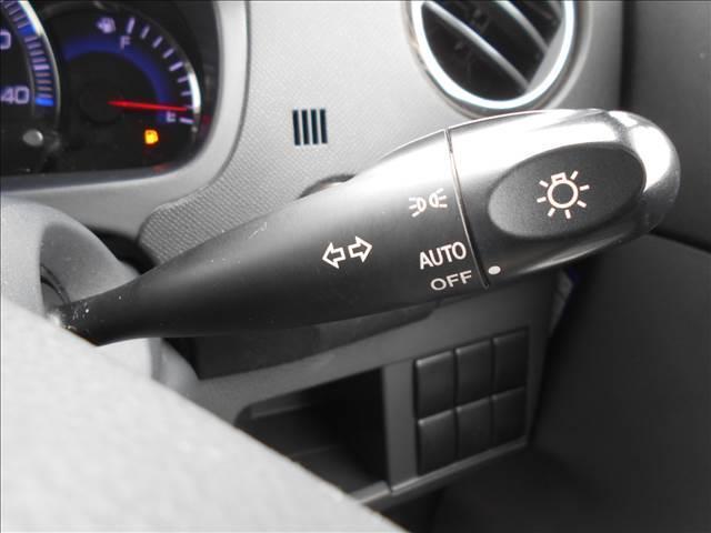 HIDオートライト付で夜間のドライブも安心ですね。