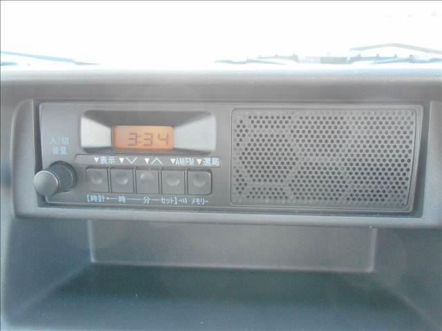 KC エアコン パワステ 農繁仕様 4WD AM/FMラジオ(4枚目)