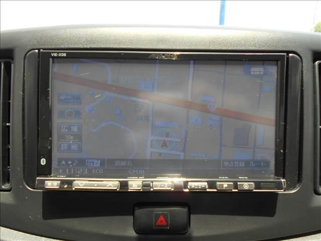 X SA 社外HDDナビ フルセグ スマアシ エコアイドル(4枚目)