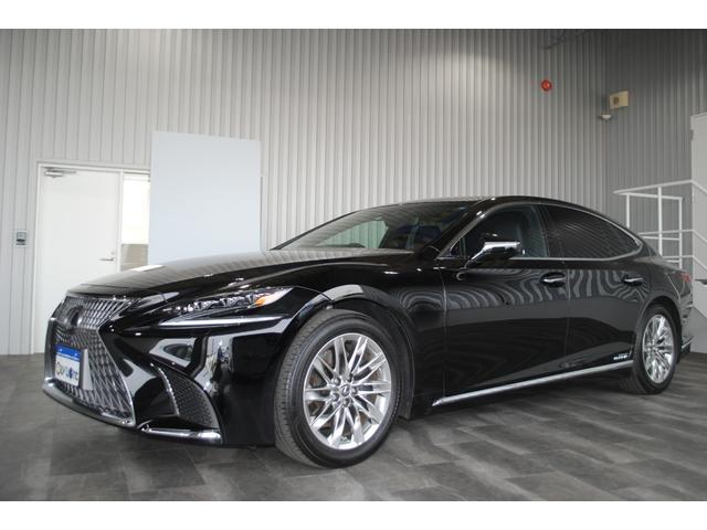 LS500h Iパッケージ SR 黒レザー ユーザー買取車(2枚目)