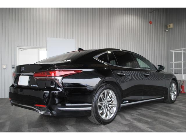 LS500h Iパッケージ SR 黒レザー ユーザー買取車(5枚目)