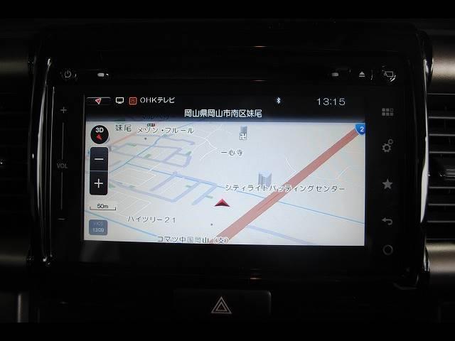 【SDナビ】CD・DVDビデオの再生はもちろん、 Bluetooth機能も付いています☆